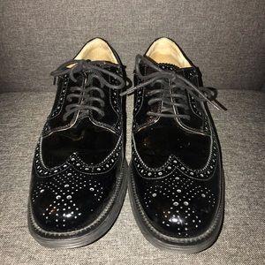 Cole Haan Patent Leather Black Size 13 Lunar